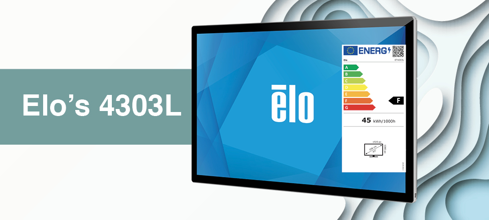 Elo's 4303L Interactive Signage Display