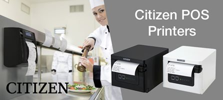Citizen POS Printers That Can Be Used For More Than Just Receipt Printing